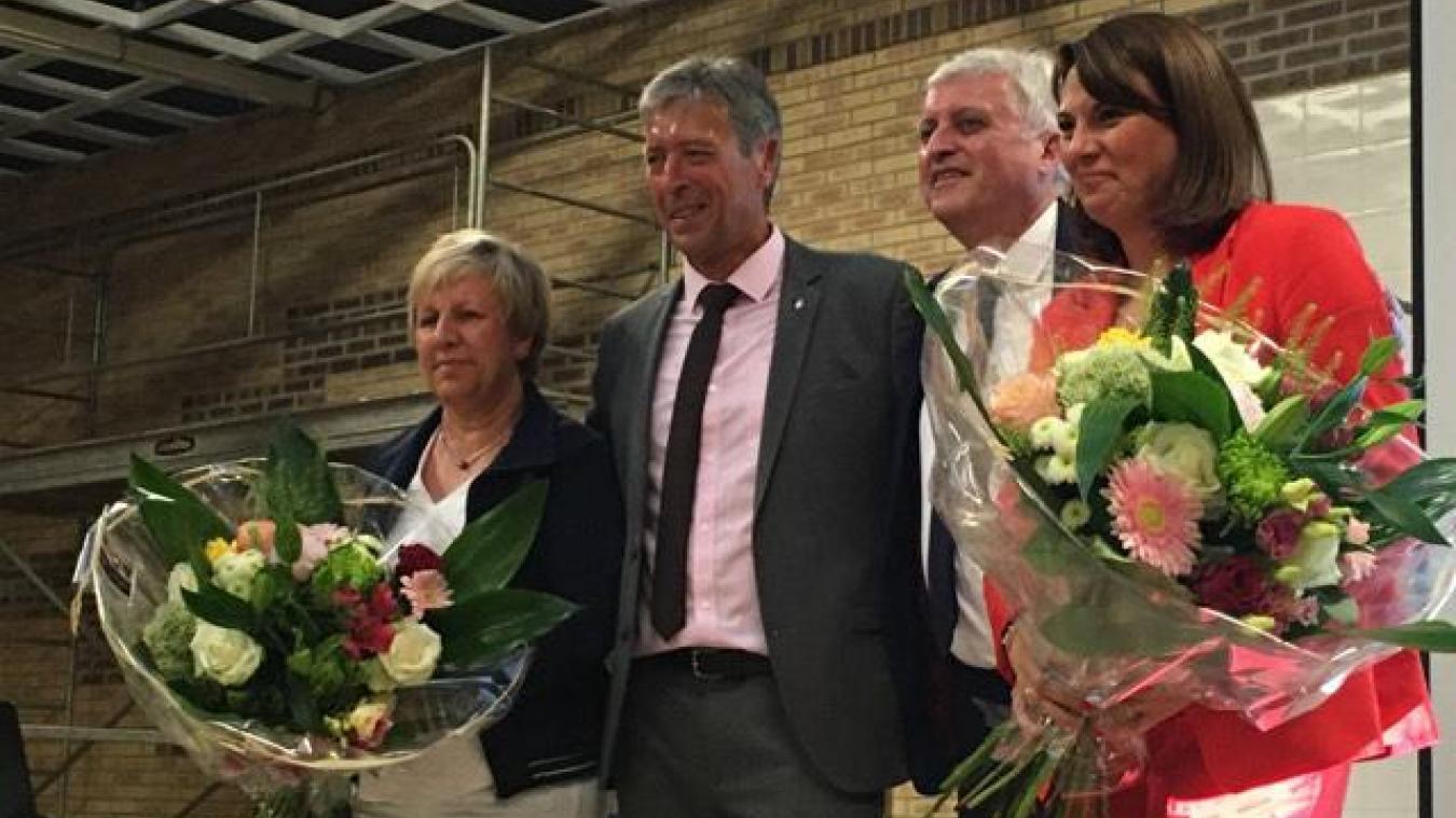 Canton de Saint-Omer : Bertrand Petit et Sophie Warot plébiscités