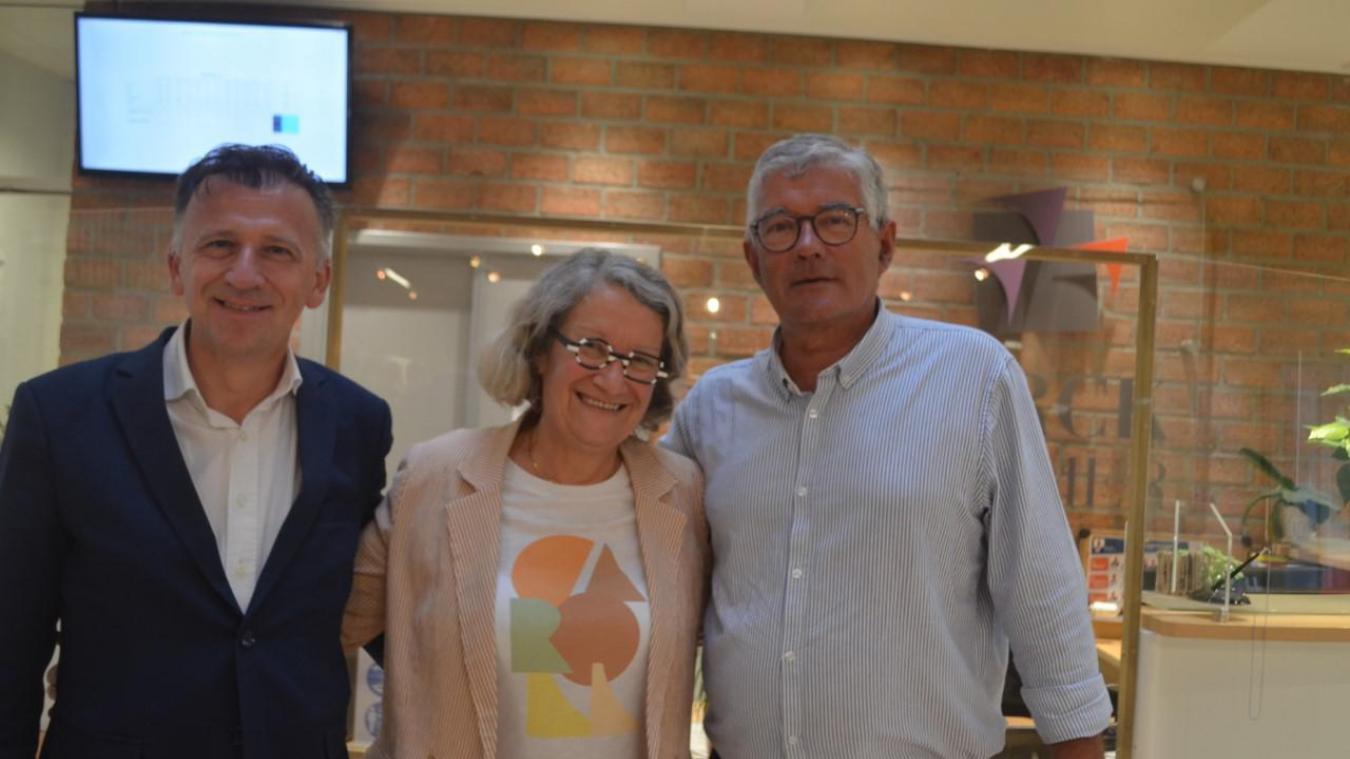 Bruno Cousein, Maryse Jumez (et leur remplaçant Pierre Ducrocq) sont réélus pour le canton de Berck.