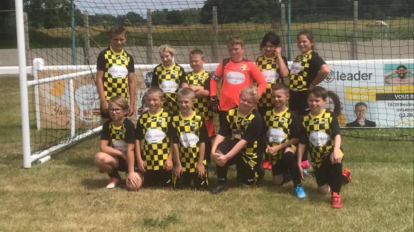 Ici, les U10-U11 Rexpoëde-Hondschoote au tournoi de Ghyvelde le 20 juin dernier.