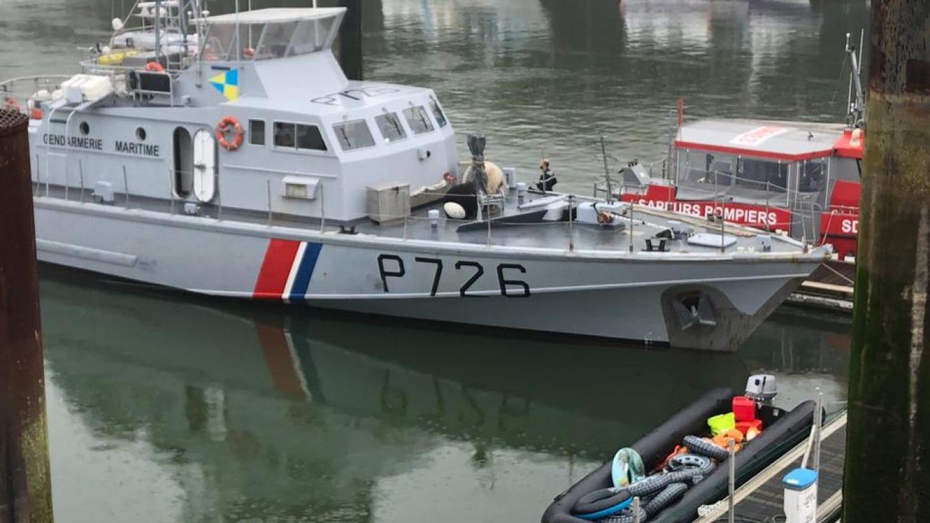 27 migrants ont été déposés au port de Boulogne ce lundi matin.