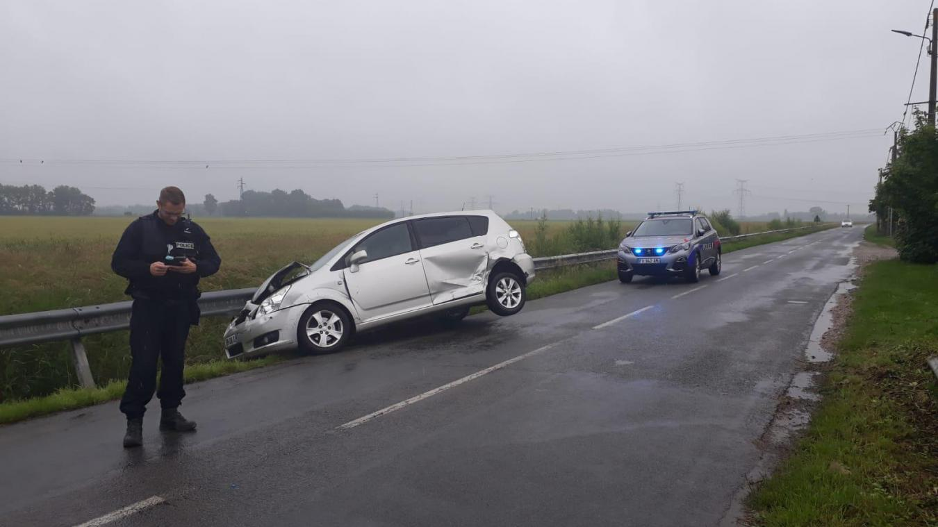 Coulogne: deux voitures accidentées rue du Calvaire