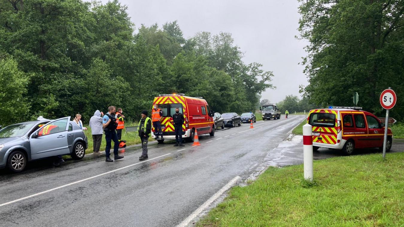 Deux accidents à Condette et Isques ce lundi matin