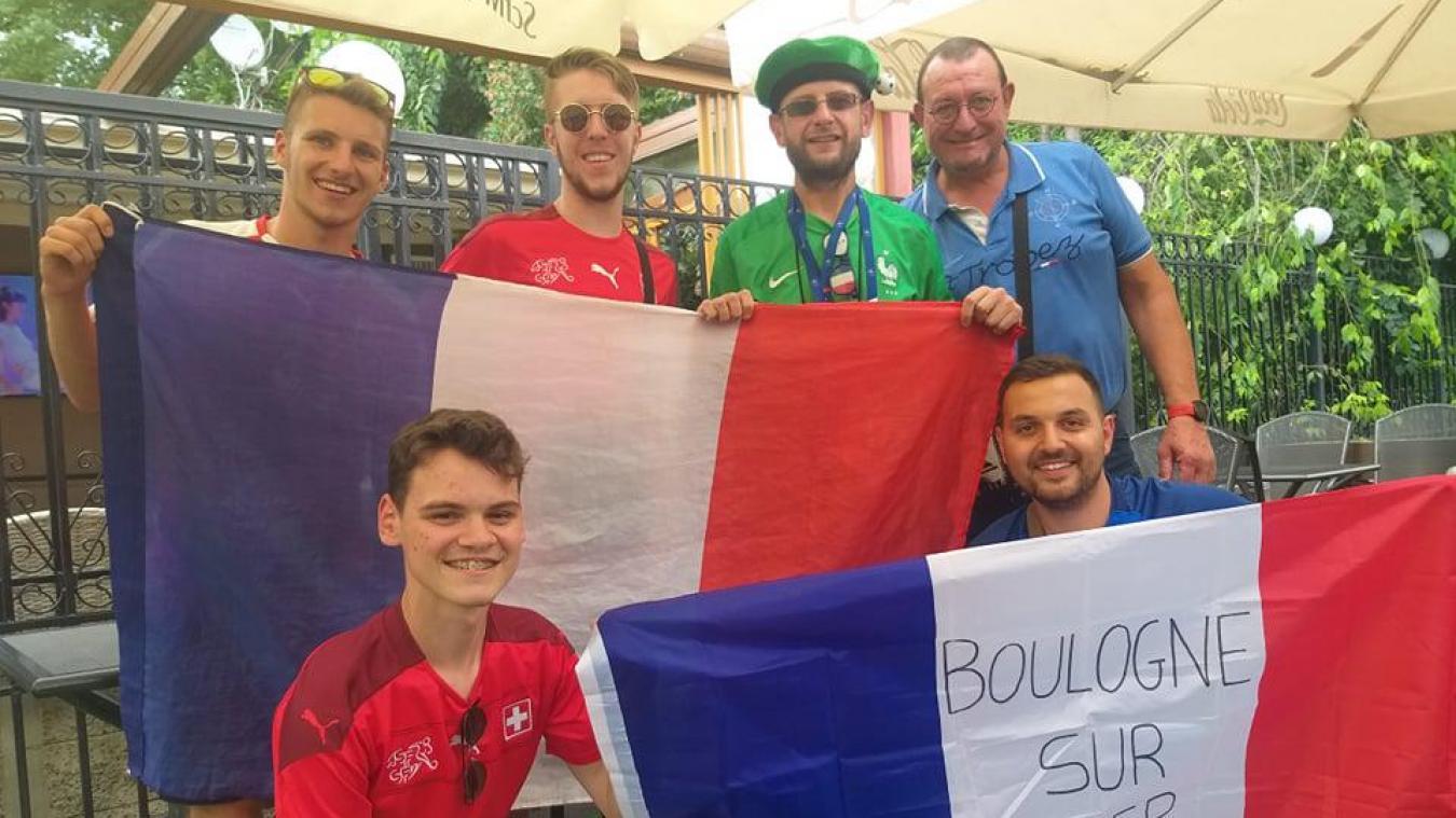 Les supporters boulonnais sont à Bucarest.