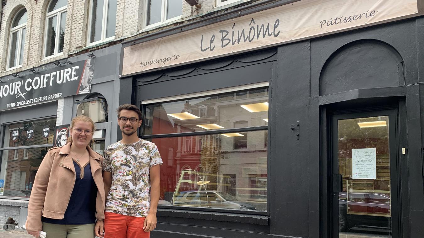 Élise Elleboudt et Timothée Mazereeuw accueilleront leurs premiers clients à partir de ce mercredi.