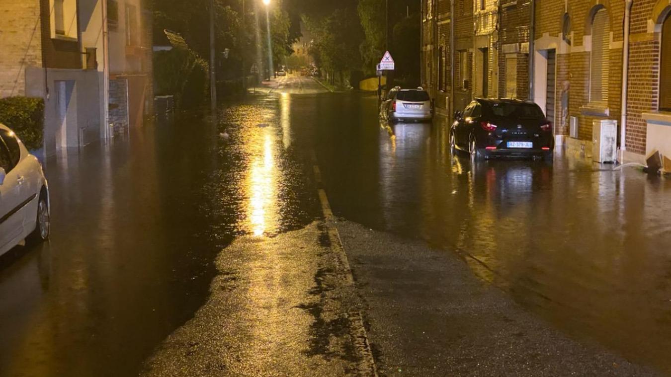 De nombreuses rues et secteurs de l'agglomération ont été inondés après les orages de la nuit du 28 au 29 juin.