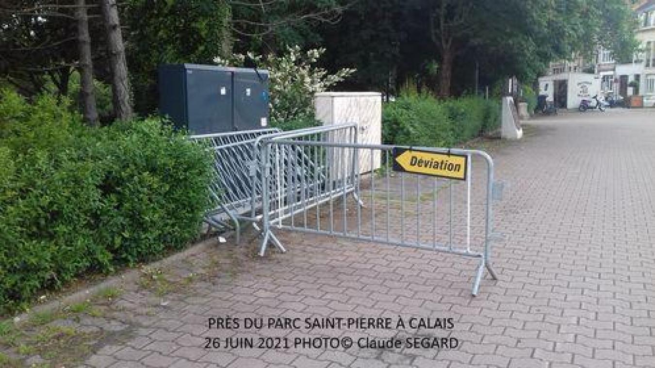 Calais: un peu d'humour avec la photo d'un lecteur