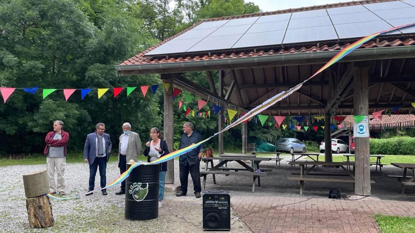 Samedi 19 juin, les 30 nouveaux panneaux photovoltaïques du centre ont été inaugurés.