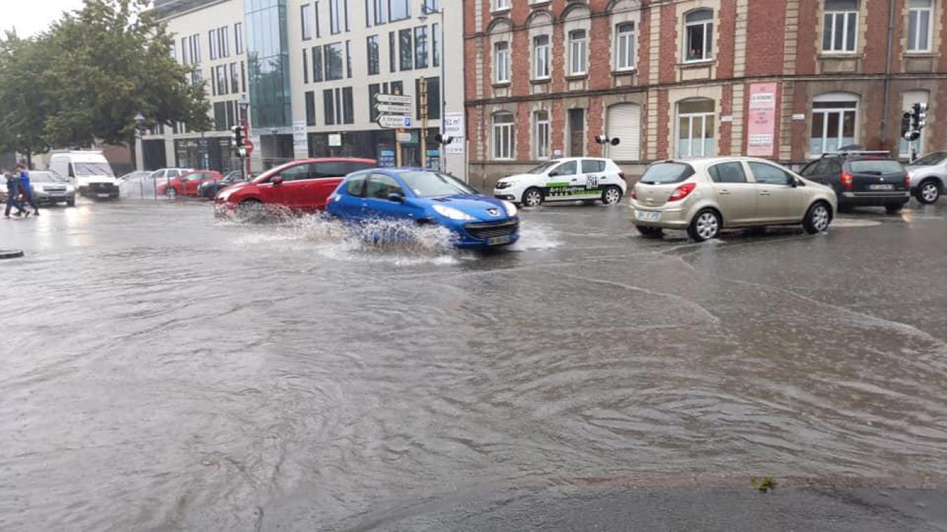 Arras : la ville touchée par les inondations (vidéo)