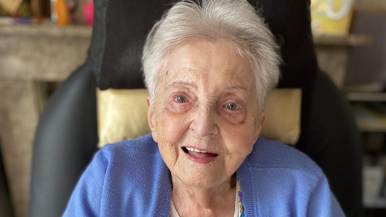 Violette avait fêté ses 100 ans l'an dernier.