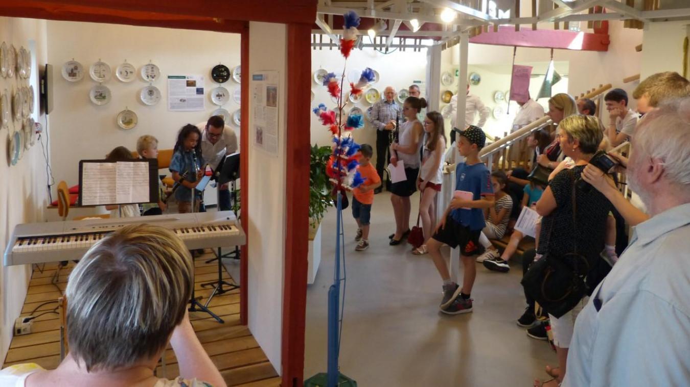 Au musée des Archers de Watten ce sont les élèves de l'école intercommunale de musique des Hauts de Flandre, qui se produiront le samedi 3 juillet.