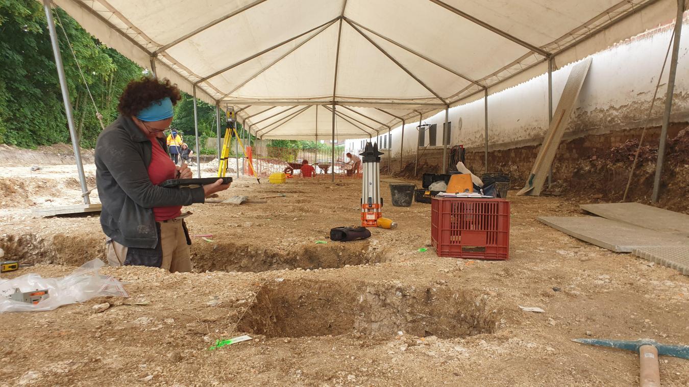 La campagne de fouilles va se poursuivre jusqu'à la fin du mois d'août.