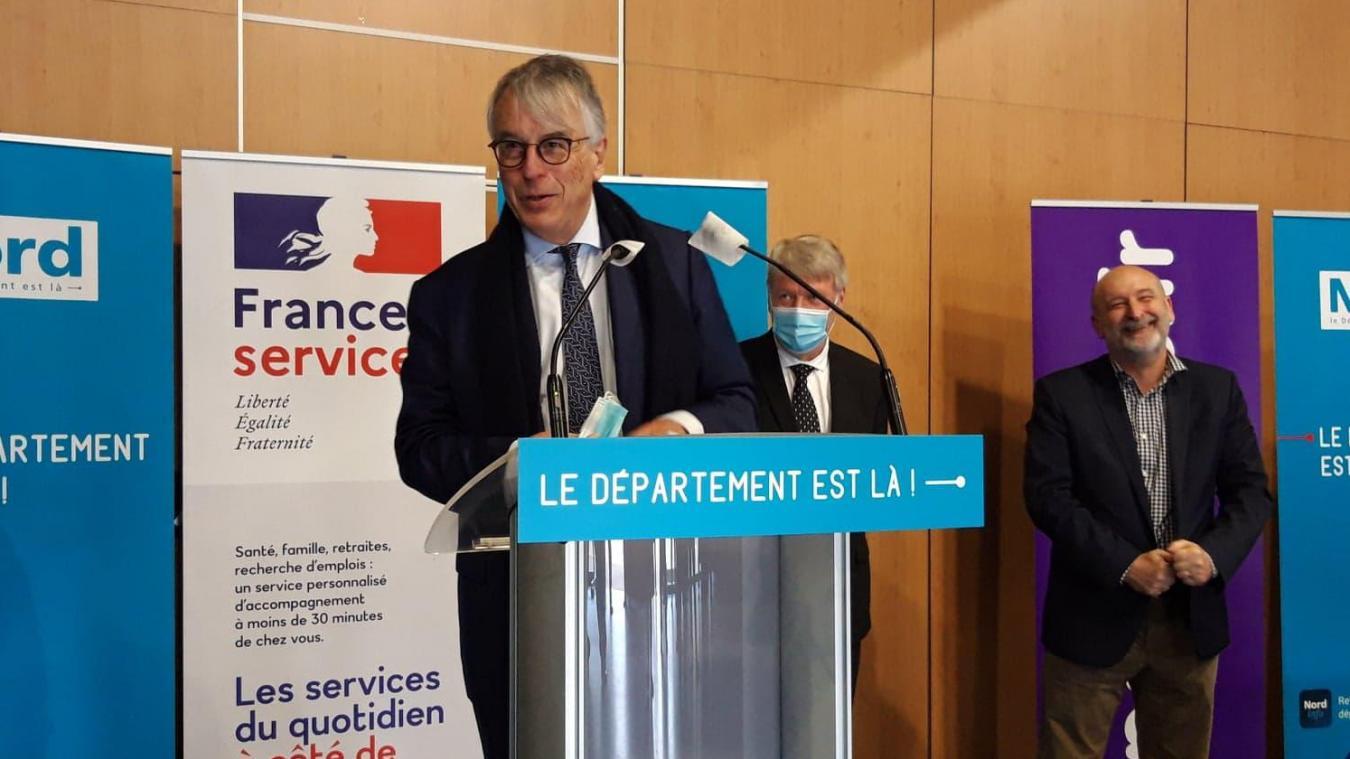 Jean-René Lecerf, le président sortant du Nord, l'affirme : les discussions progressent autour du financement du contournement de la RD 642.