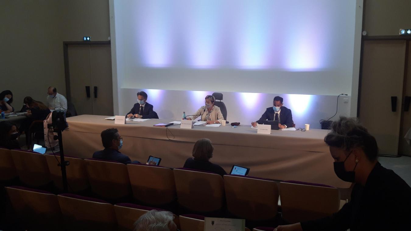 Le conseil municipal s'est tenu hier, de 16h à 19h, à l'auditorium du musée des Beaux-Arts.