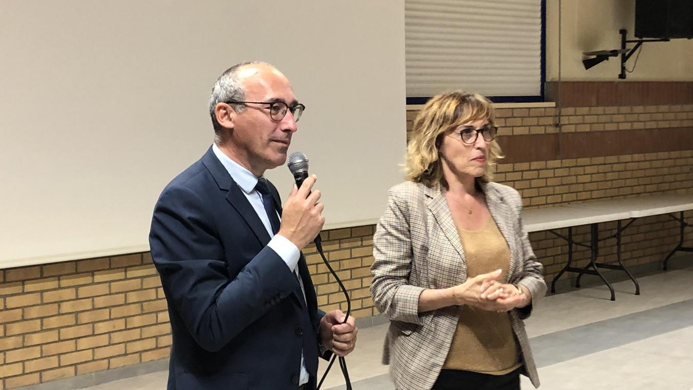 Paul Christophe et Martine Arlabosse brigueront un second mandat au conseil départemental.