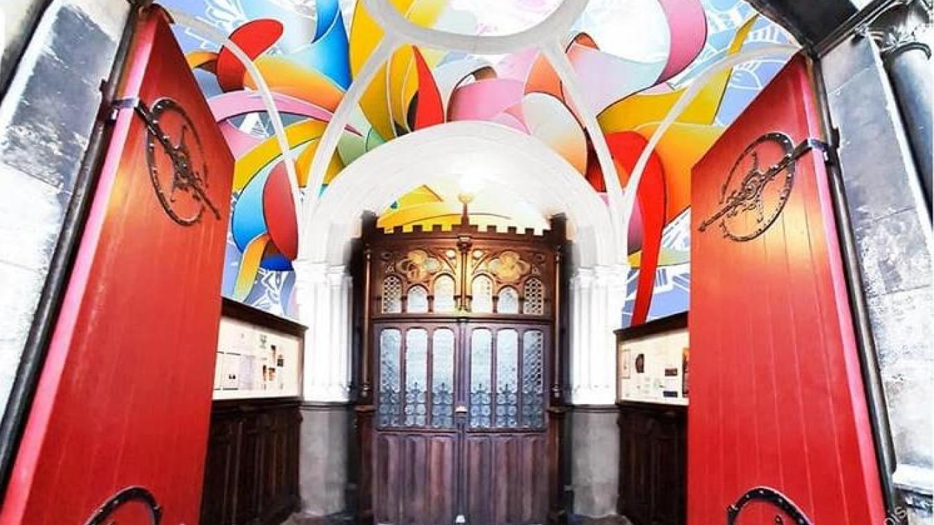 Deux fresques au choix pour l'église Saint-Pierre à Calais