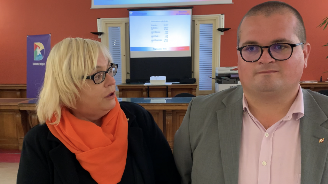 Christine Decodts et Grégory Bartholoméus avancent confiants sur leurs sept ans de mandat au conseil départemental.