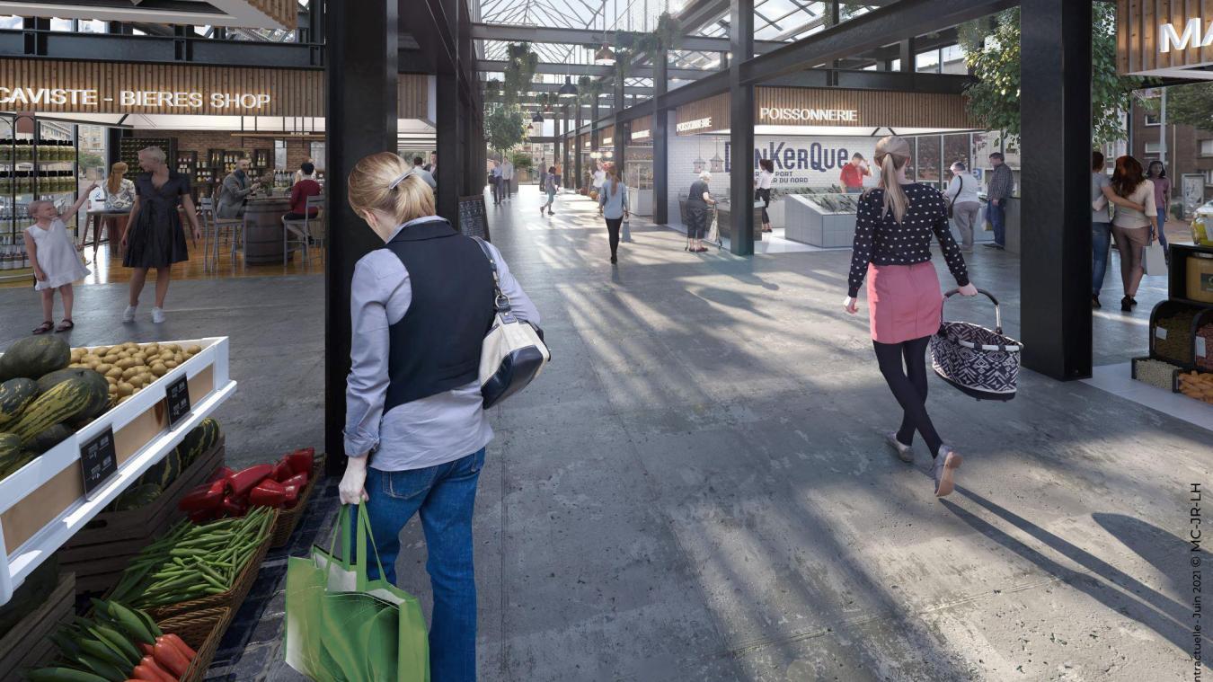 Le nouveau bâtiment sortira de terre à l'angle du cours François-Bart et de la rue des Sœurs-blanches.