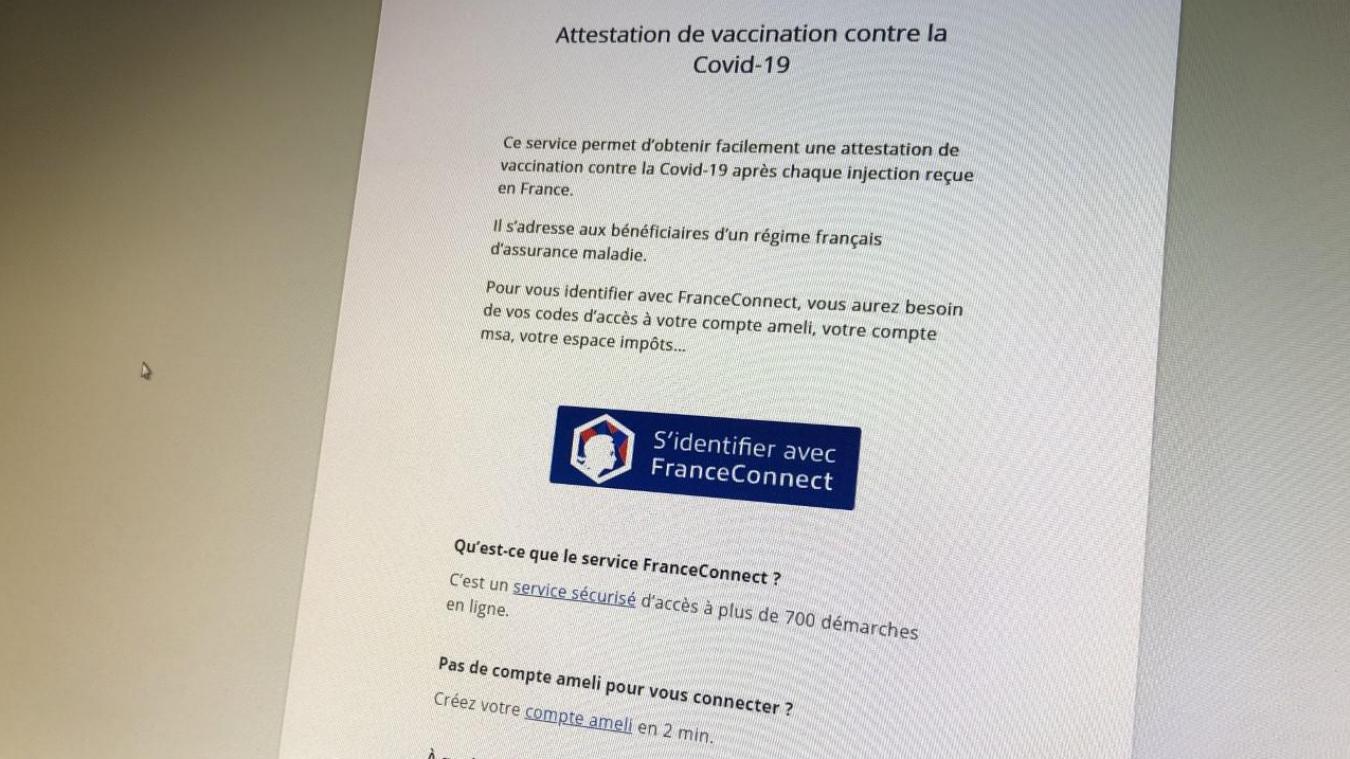 Le pass sanitaire européen se télécharge sur le site de l'assurance maladie.