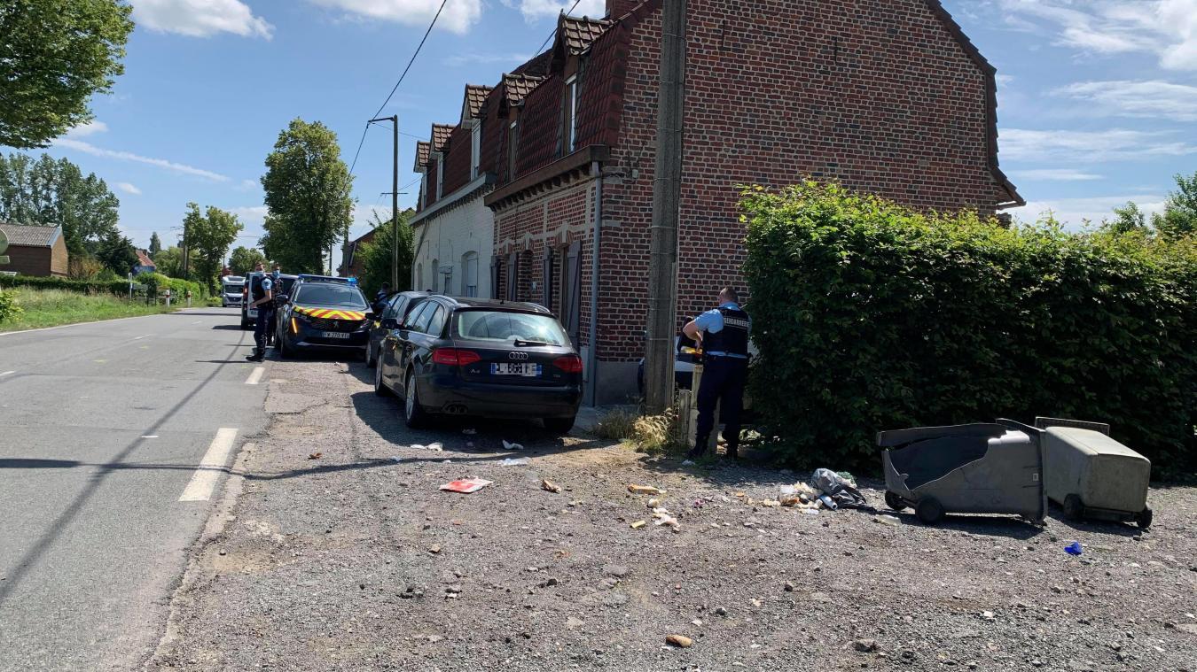 Deux morts dans un accident à Neuf-Berquin