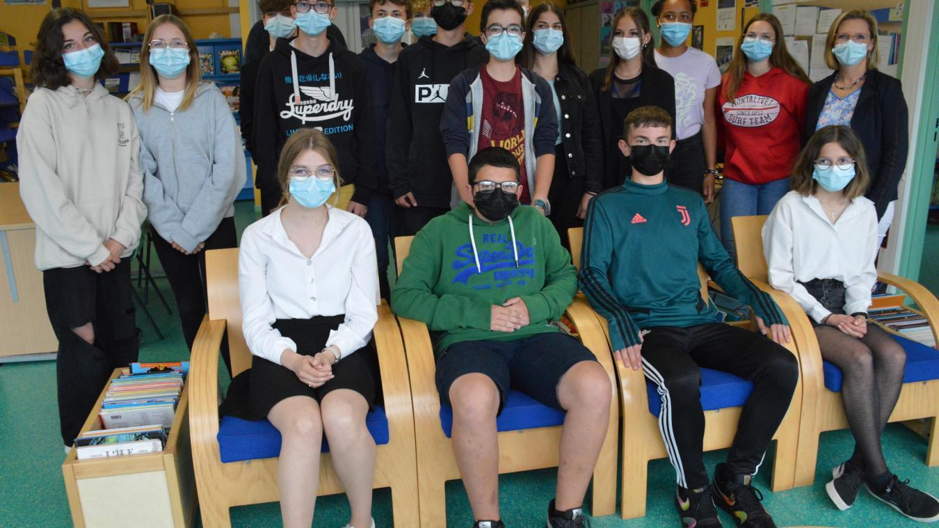 Les élèves de la section européenne.