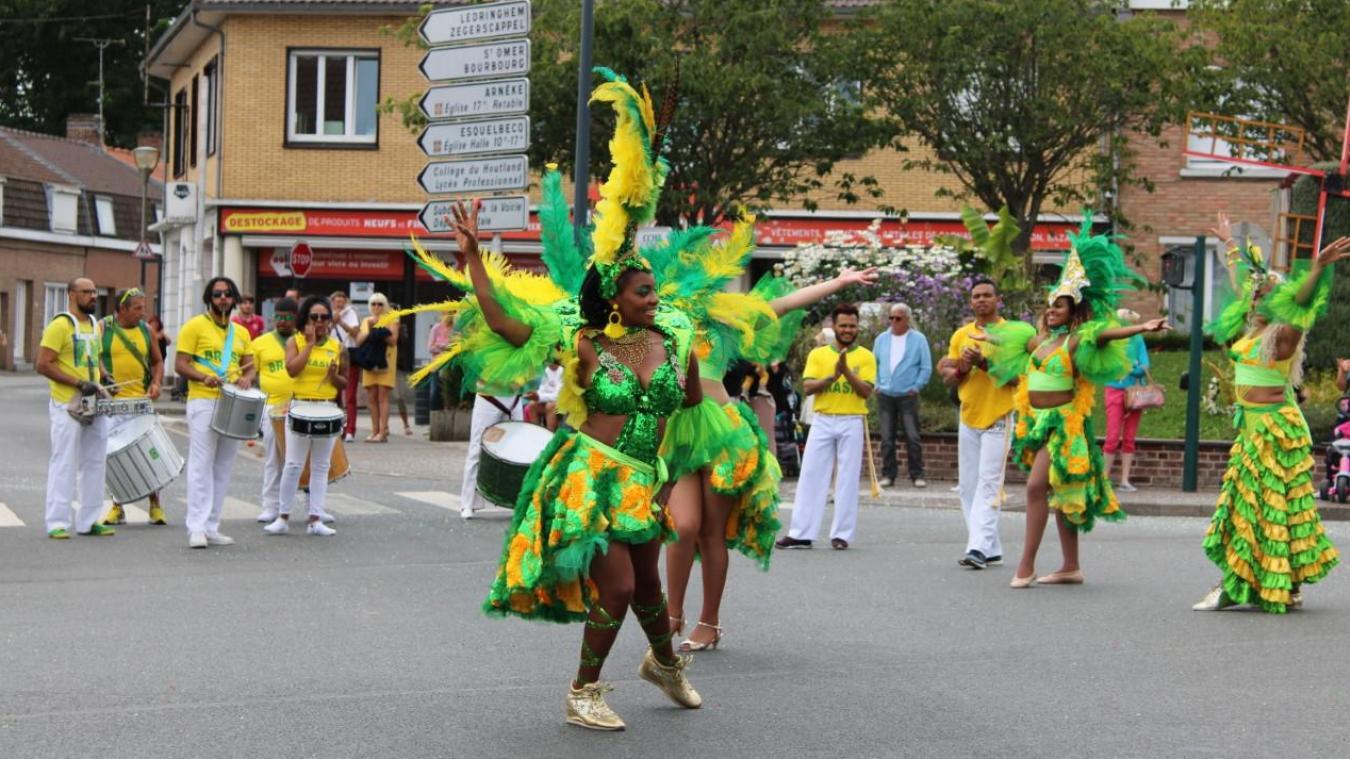 Samedi 3 juillet, dès 15 h, des danseurs brésiliens animeront la Grand'place de Wormhout.