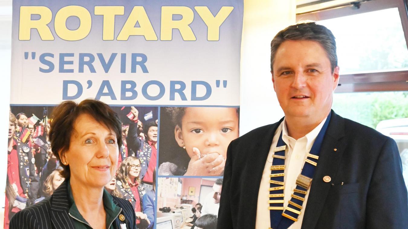 Le club Rotary Dunkerque horizon connaîtra, à compter du 1erjuillet, un nouveau président.