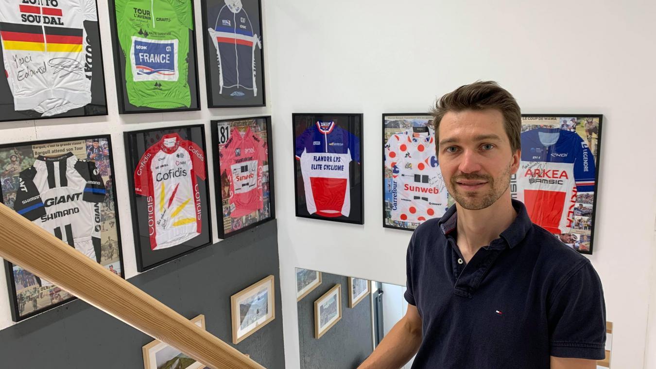 Édouard Hervé, l'ostéo de Méteren qui chouchoute les cyclistes