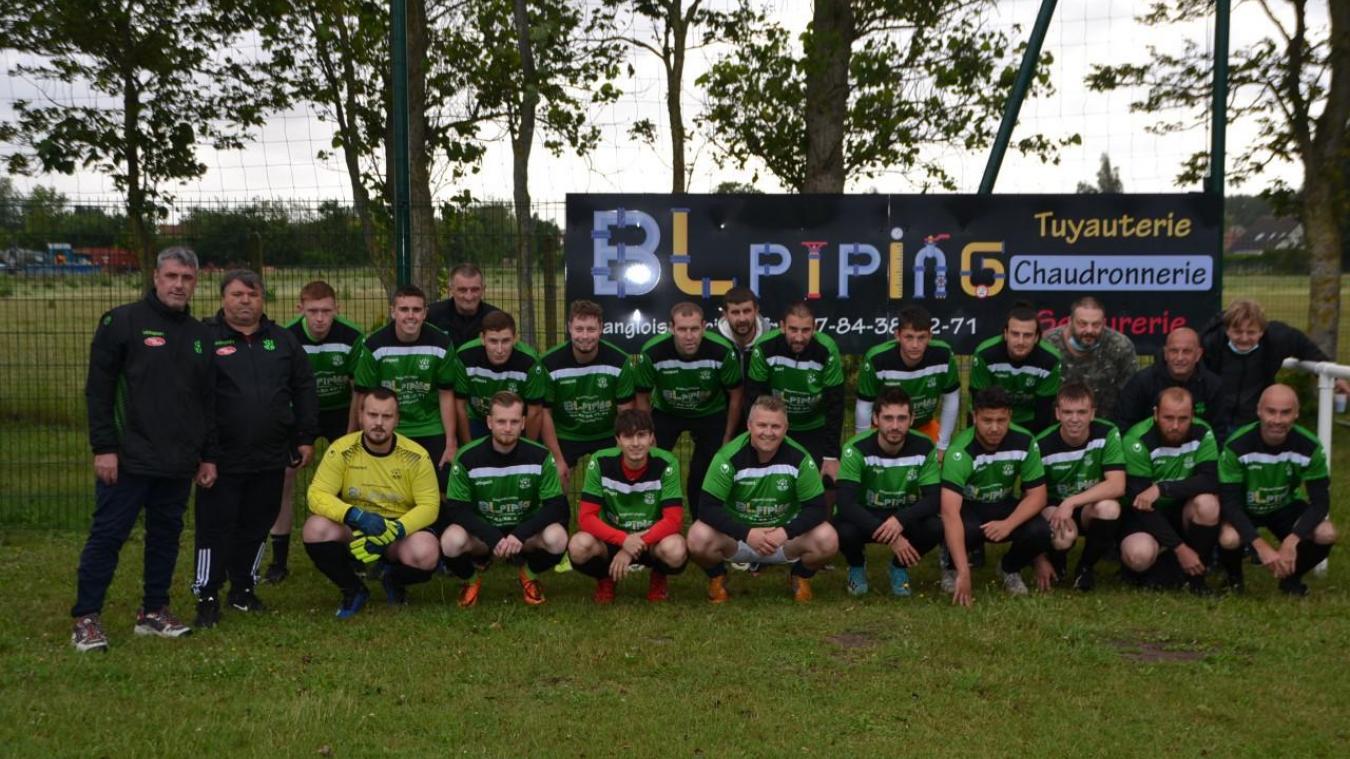 Le FJEP Fort-Vert prépare la saison à venir soutenu par BL Piping, sponsor des Vert et Noir.