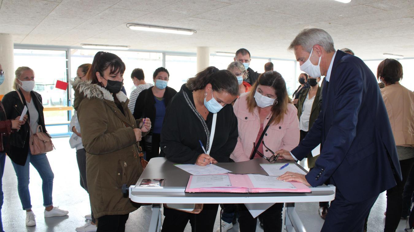 Au total, presque une trentaine de famille a signé la lettre ouverte à l'intention de Sophie Cluzel, secrétaire d'Etat chargée des personnes handicapées.