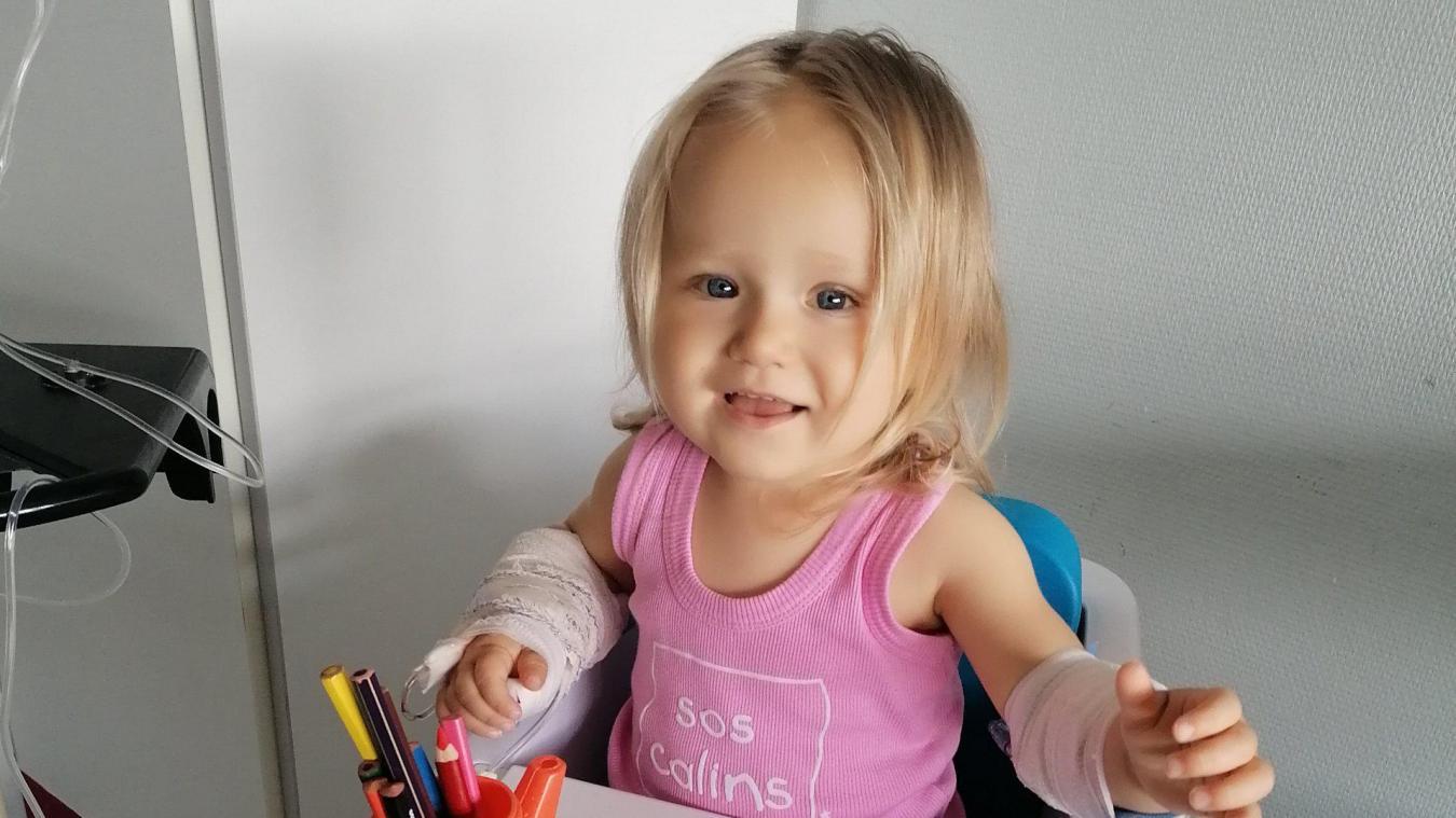 Elsa aura deux ans dans quelques jours. Elle est touchée par la leucémie depuis début juin et démarre pour elle un long parcours du combattant.