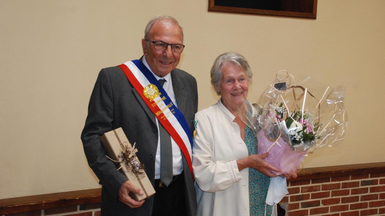 Dans ses missions, Jean Lecomte a pu compter sur le soutien de son épouse Carmen.