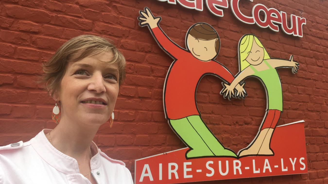 «Une année bien remplie en reprenant une bonne part des activités, mais en les adaptant», Hélène Delgery, présidente de l'APEL du Sacré-Coeur