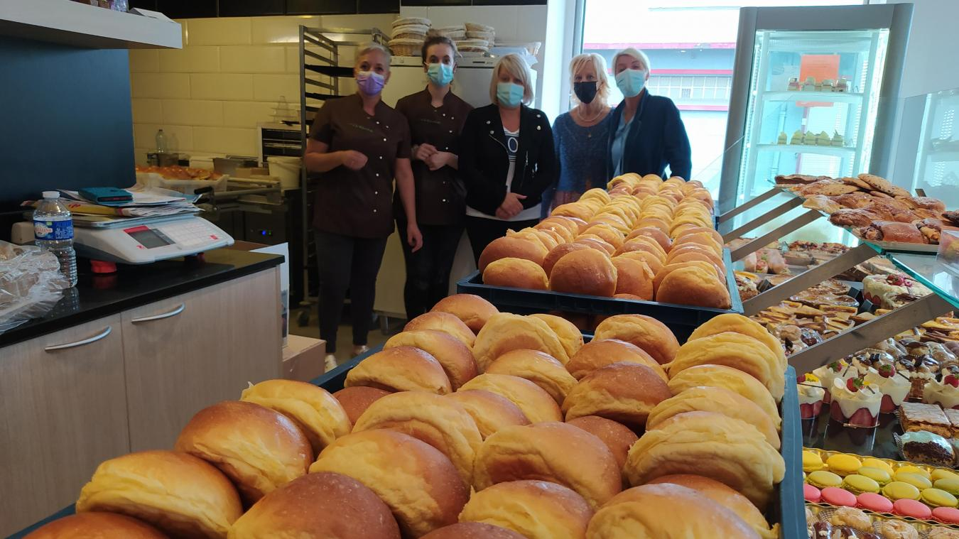 Le couple de la boulangerie «A la Charlotte» à Calais a décidé d'aider Théo et son papa.