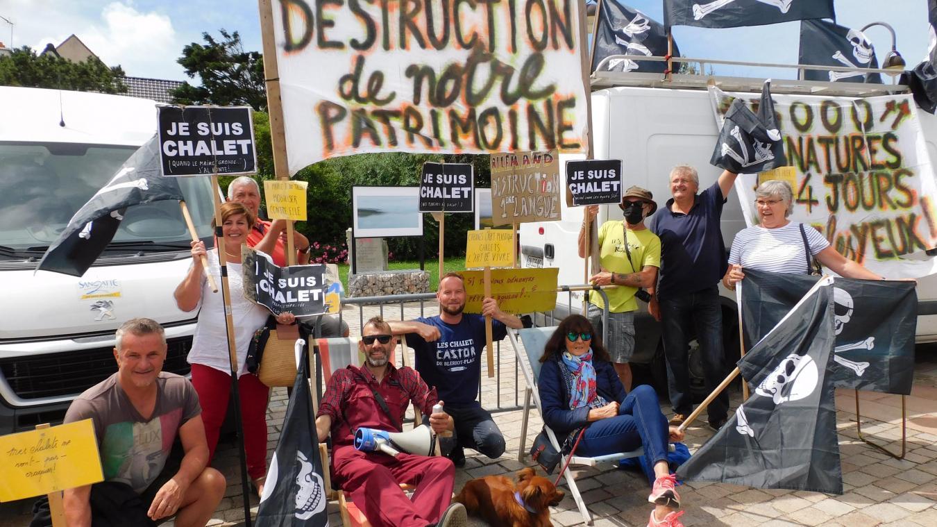 14 ème dimanche de manifestation pour les Chalets Castor.