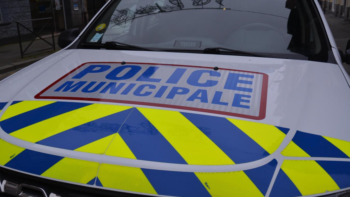 Quatre agents de la police municipale sont intervenus.