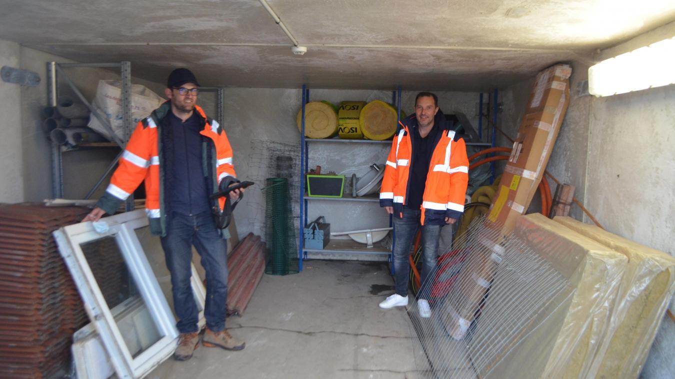 La déchetterie de Rivière du Syndicat mixte Artois valorisation (SMAV) propose un local dédié à la récupération d'objets.