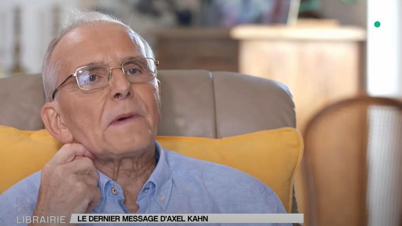 Axel Kahn, médecin, généticien et essayiste, est mort à 76 ans des suites d'un cancer