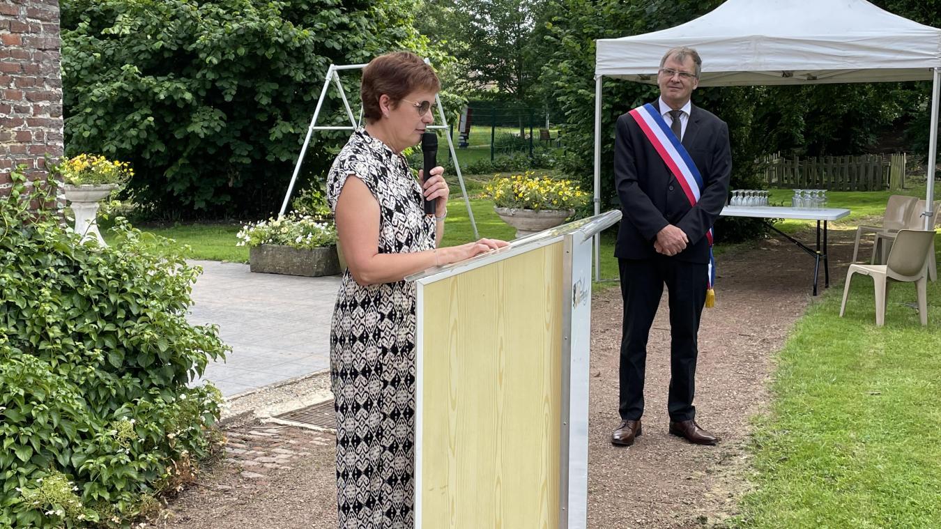 Annie Bonême a pris sa retraite après 19 ans de bons et loyaux services à l'école Roger-Salengro.
