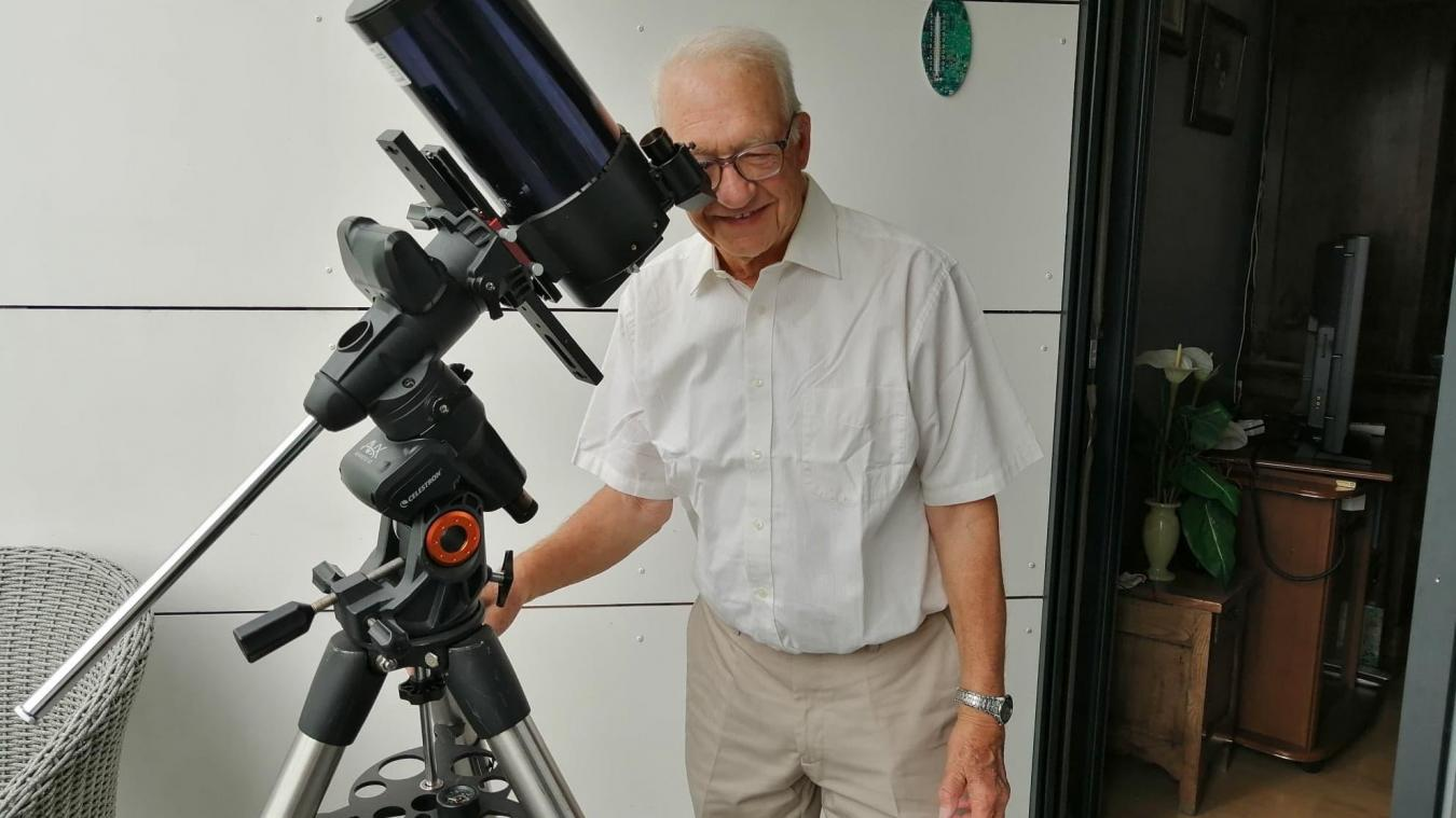 À cause de la crise sanitaire, les observations directes à l'oculaire ne sont toujours pas autorisées. Mais l'association a trouvé une solution de replis.