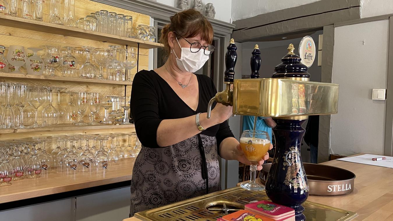 Sylvie Loones a réalisé son rêve en rachetant Le Lion blanc, rue de Wormhout, en vente depuis dix ans.