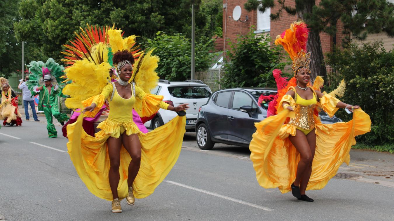 Ce n'est pas la première fois que des danseurs brésiliens se rendent à Wormhout.