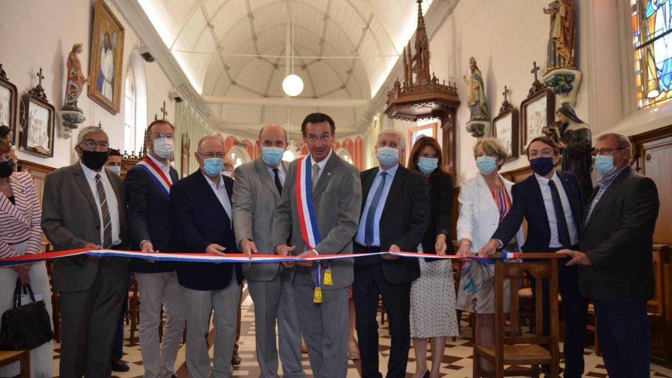 Campagne-lès-Wardrecques : l'église retrouve ses couleurs d'antan (photos)