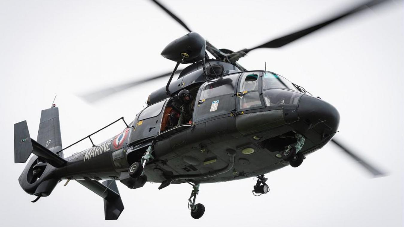 Un pêcheur évacué par hélicoptère au large de Berck
