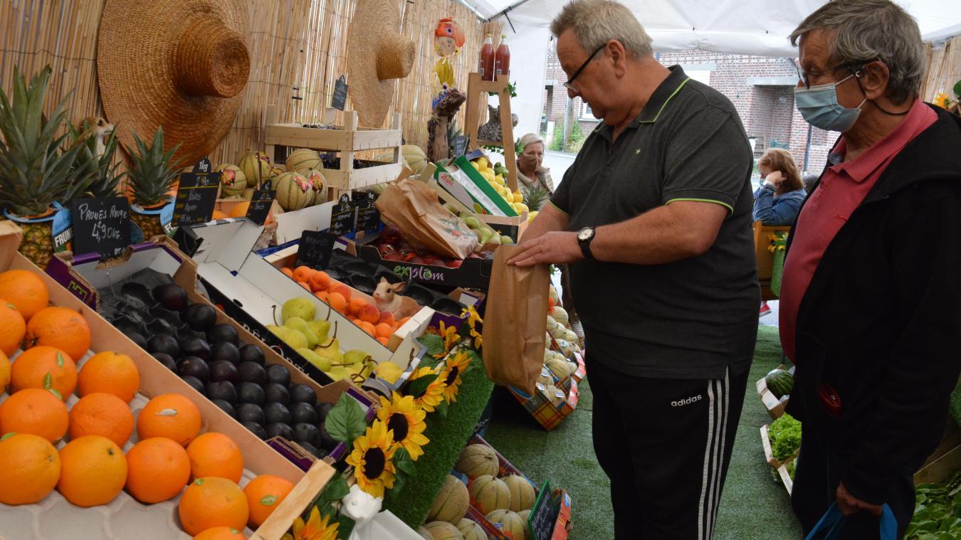 Bernard Demonchaux propose en grande partie des produits locaux. Il en sera de même dans le futur local.