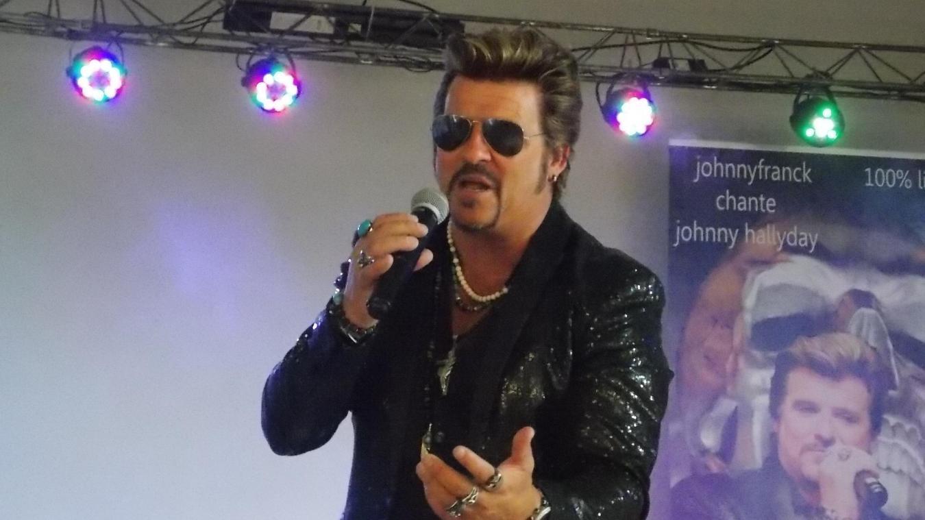 Johnny Franck, sosie de Johnny Hallyday, sera l'invité vedette du 14 Juillet à Audruicq.