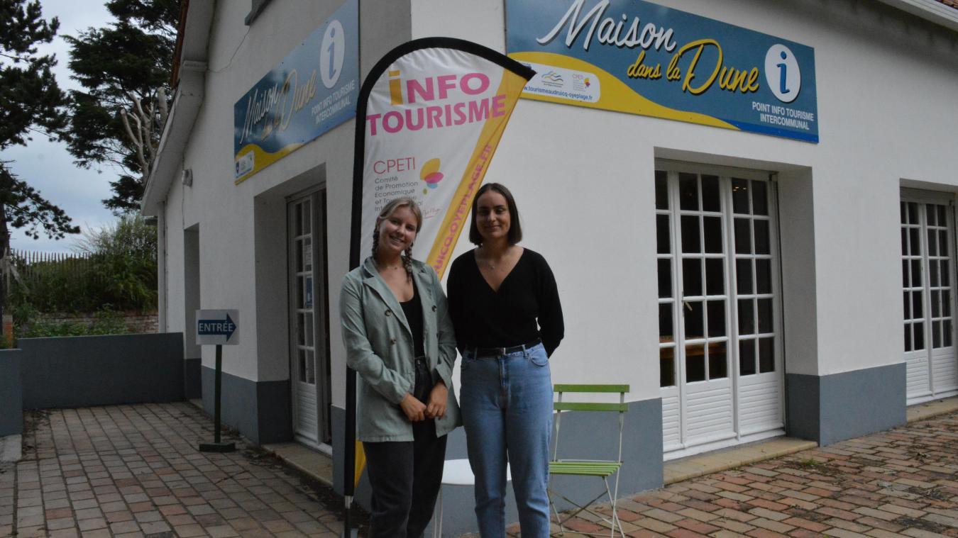 Méline Chelli et Maëli Swynghedauw seront présentes pour cette saison à la Maison dans la Dune.