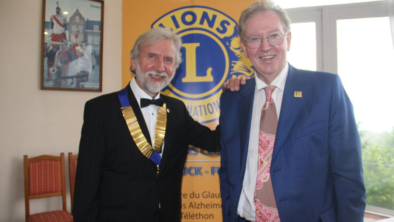 Cassel : Michel Dubar entame un second mandat au Lions Club