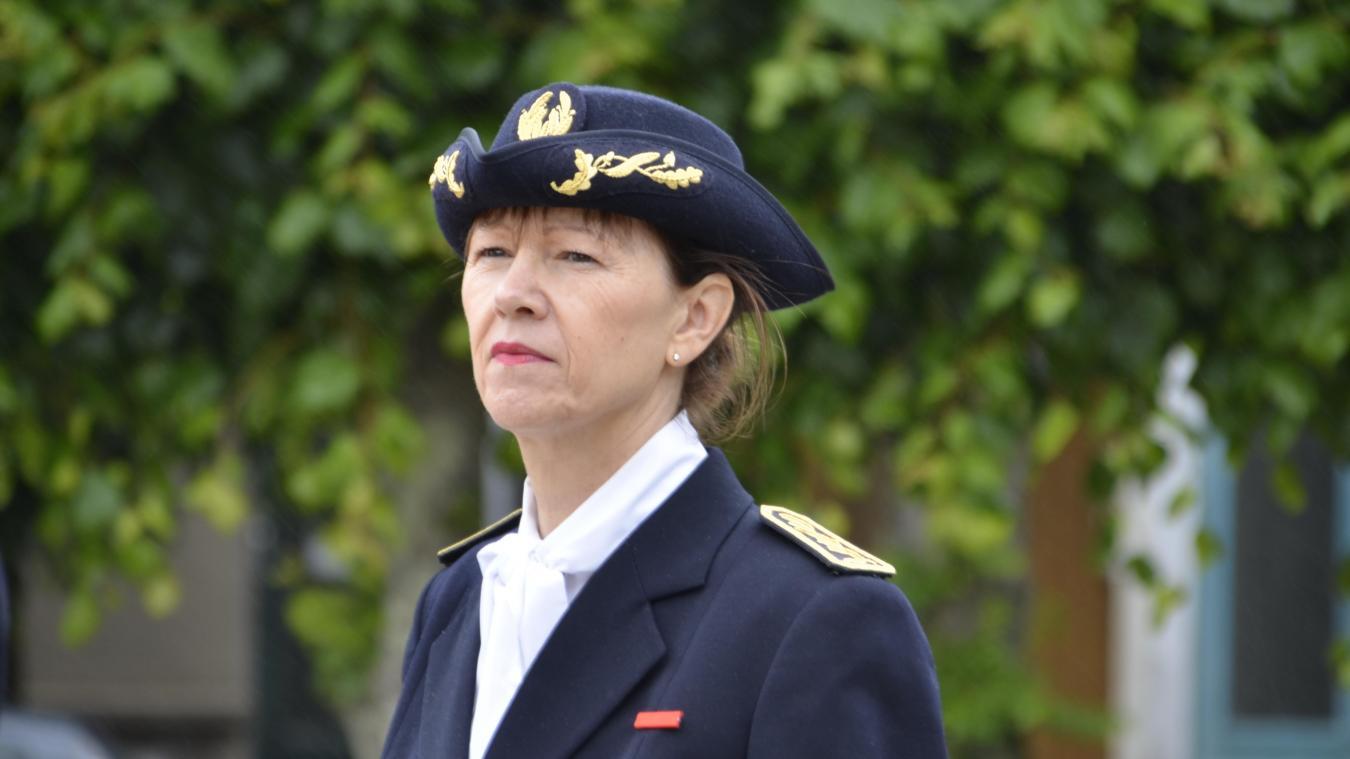 Dominique Consille, sous-préfète de l'arrondissement de Boulogne-sur-Mer.