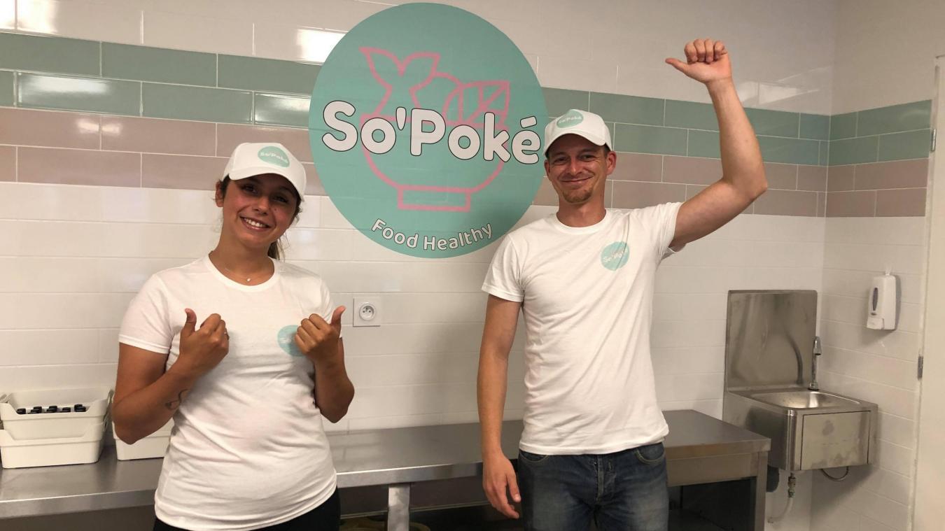 Avec So Poké, les poke bowls débarquent à Estaires