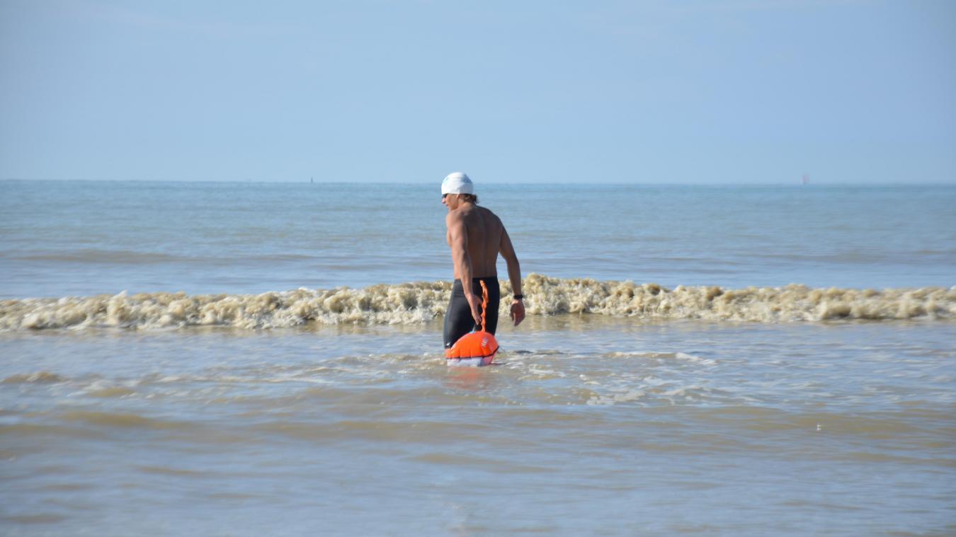 À tout juste 17 ans, Matteo Lutun va tenter de traverser la Manche à la nage.